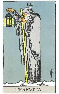 L'eremita - Lama n° 9